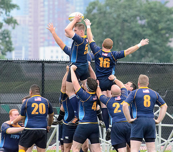 FDNY vs NYPD Rugby Match
