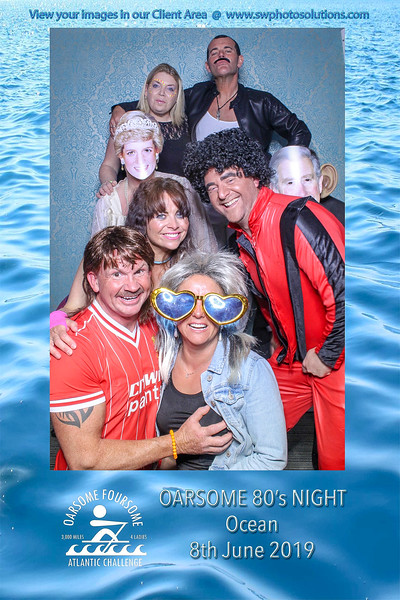 Oarsome Foursome  80's themed fundraiser