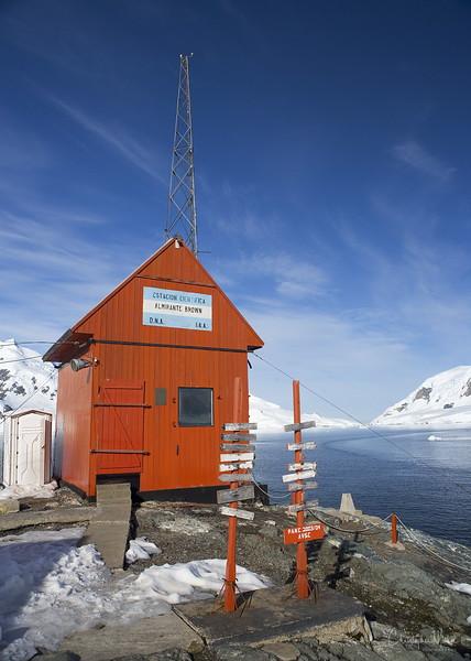 Almirante Brown Base, Antarctica 64' 52'S  062'52'W