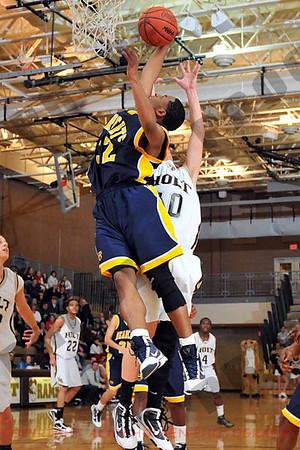 Boys Varsity Basketball - Battle Creek Central vs Holt - March 10