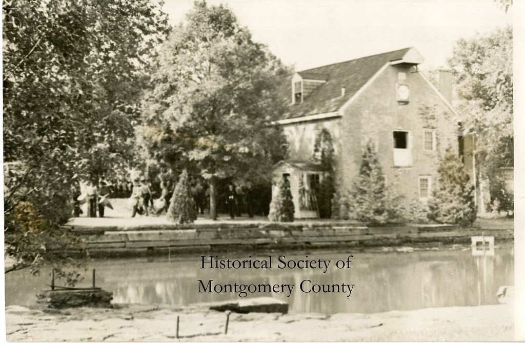 . This undated photo from the Historical Society of Montgomery County shows a mill on Bethlehem Pike in Whitemarsh.