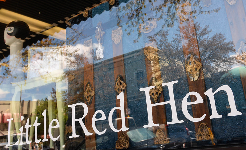 The store front of Little Red Hen Vintage in downtown Chico on Friday. (Matt Bates -- Enterprise-Record)