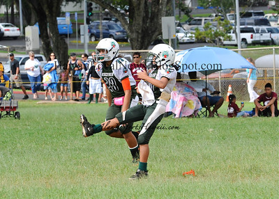 "Hawaii State Jr. Prep Sports Association - Kapolei ""vs"" Lihue Bulldogs (14-32)"