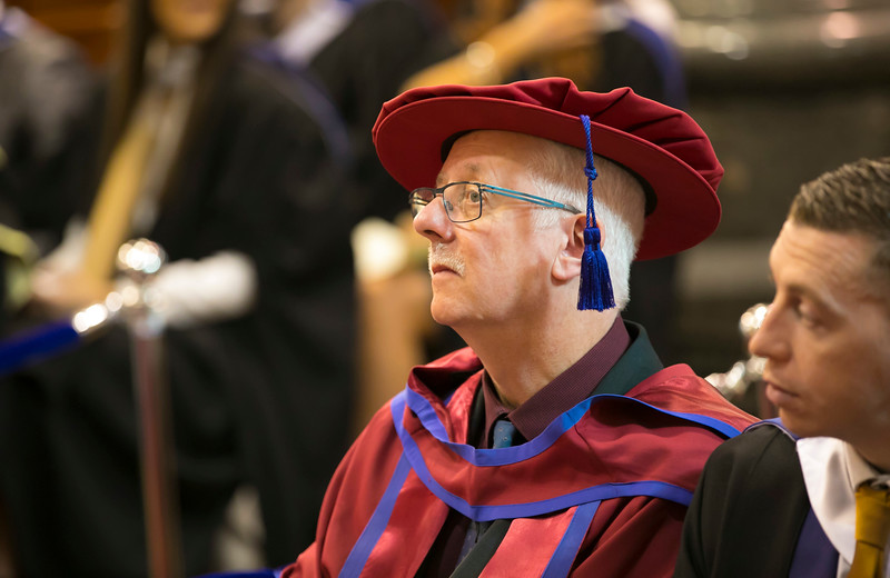 01/11/2017. Waterford Institute of Technology Conferring. Pictured is Noel Keating from Carlow who was conferred a PhD.  Picture: Patrick Browne