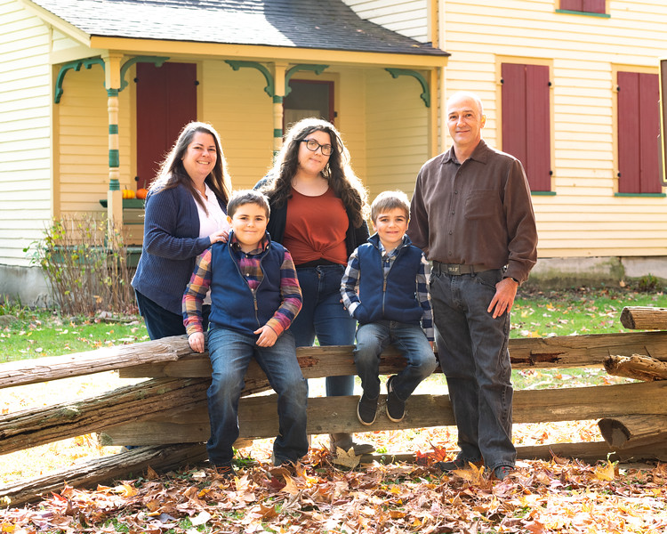 Riggs Family at Forstville and Rocky River Reservation