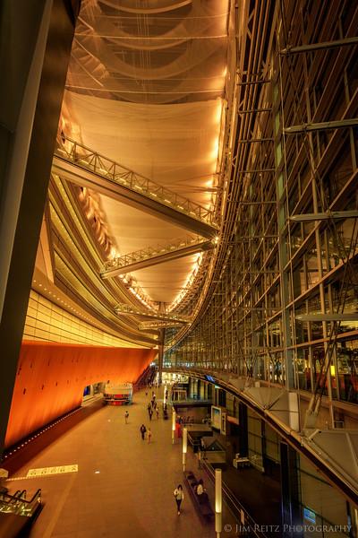 Tokyo International Forum building.