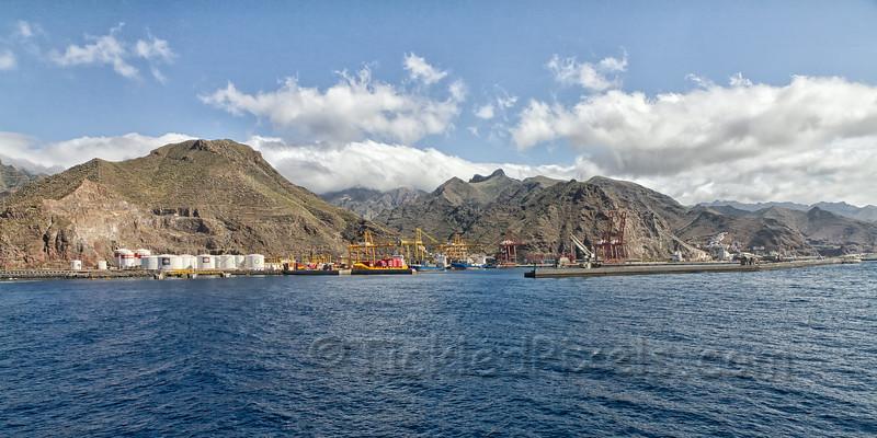 Industrial Port of Santa Cruz, Tenerife