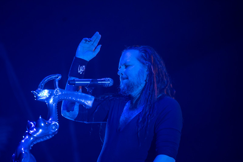 Korn perfroms at the Moda Center, February 27, 2020