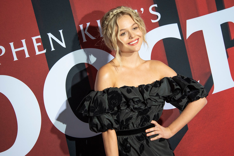 """LOS ANGELES, CALIFORNIA - OCTOBER 29: Emily Alyn Lind attends the premiere of Warner Bros Pictures' """"Doctor Sleep"""" at Westwood Regency Theater on Tuesday October 29, 2019 in Los Angeles, California. (Photo by Tom Sorensen/Moovieboy Pictures,)"""
