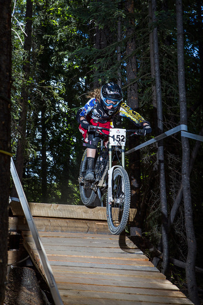 Mountain Biking - Canadian DH Championships - Panorama, July 2013