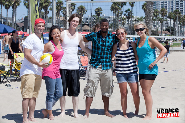 08.05.12  Gold's Gym - Venice staff beach party
