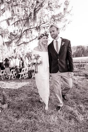 Evans' Wedding Ceremony, Congaree & Penn Farm and Mill, Jacksonville Florida USA
