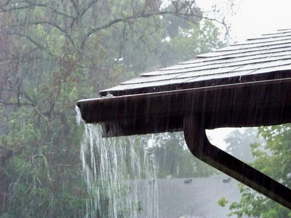 Summer Rainstorm, or, My Gutters Runneth Over Again