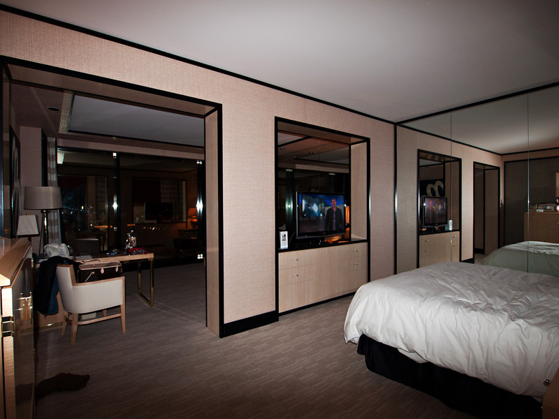 King suite at the Encore, 57th floor