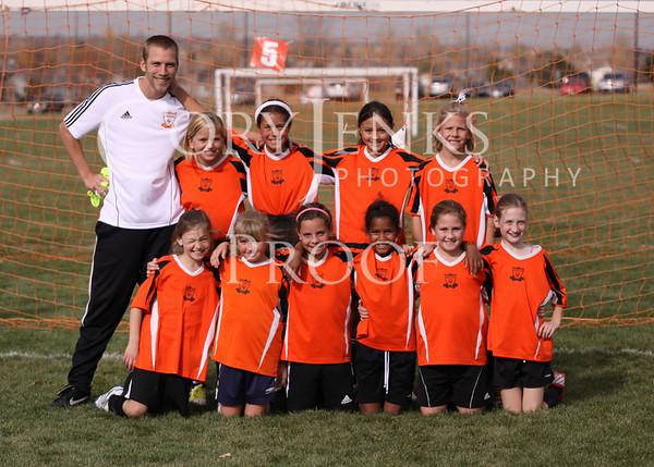 WAFC U10G Rangers Fall 2012
