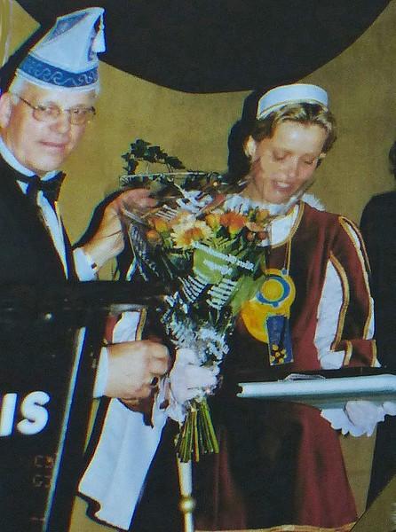 Zitting van het Gebersye Kruukske in het Kolpinghuis met Harry van Megen en Page Nancy van den Akker