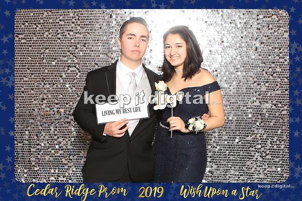 Cedar Ridge Prom 2019 - Photobooth