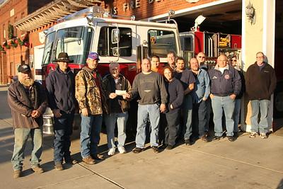 Mount Morris FD - Donation of Fire Truck to Birdsall FD - November 25, 2014