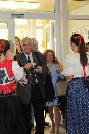Slávnostné vyhodnotenie ŠKOLA ROKA - 24.10.2014, Žiar nad Hronom