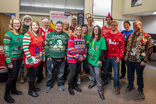 Ugly Sweater and Potluck 2019