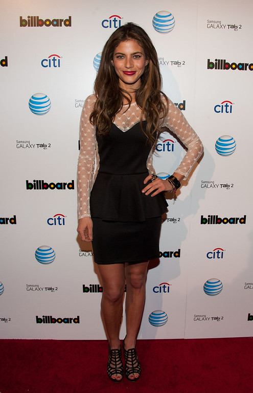 . Weronica Rosati attends The Billboard GRAMMY After Party at The London Hotel on February 10, 2013 in West Hollywood, California. (Photo by Valerie Macon/Getty Images)