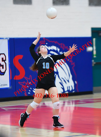 11-4-17 - Scottsdale Christian Academy v Veritas Prep (AIA 2A Final)  Volleyball Championship