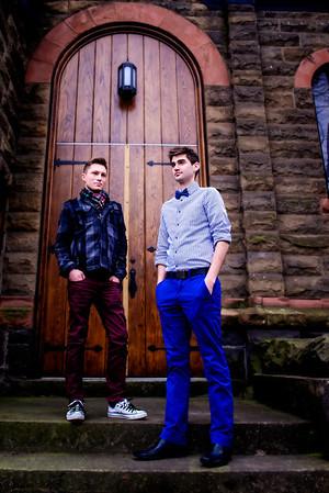 Stephen & Matthew