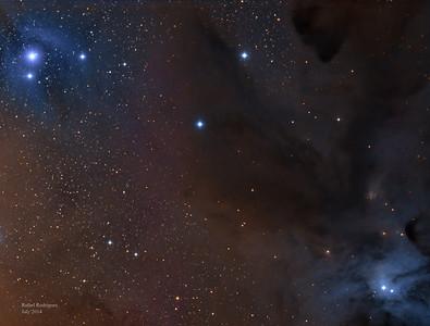 IC4605, LDN 1689, IC4603