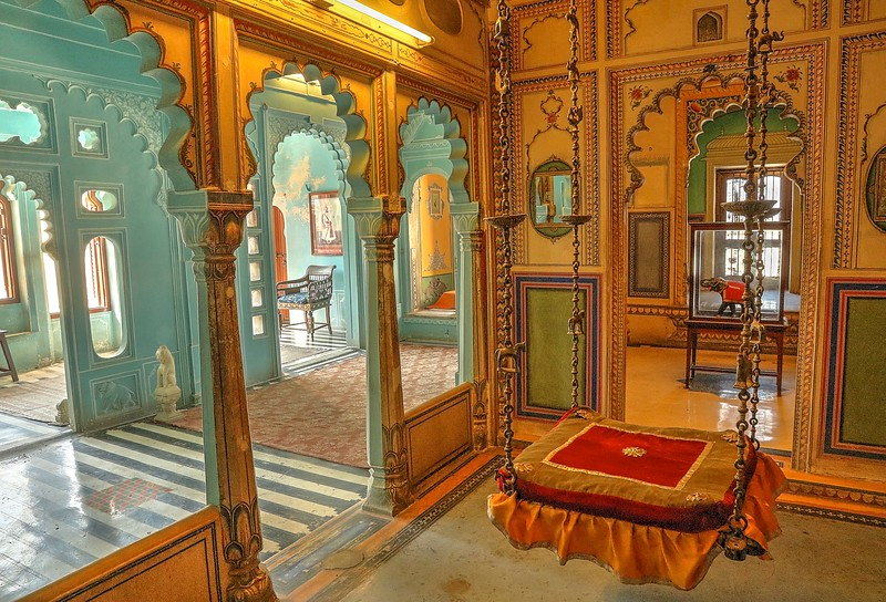Zenana Mahal (Ladies Chamber) - City Palace, Udaipur
