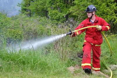 Brush fire - Honeoye Falls #6 Road Rush, NY - 5/16/21