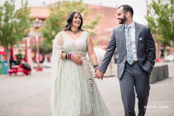 Avneet and Karan Engagement