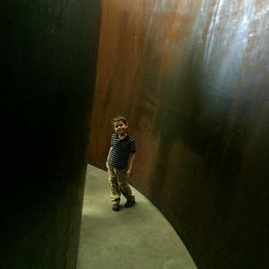 Exploring a Richard Serra