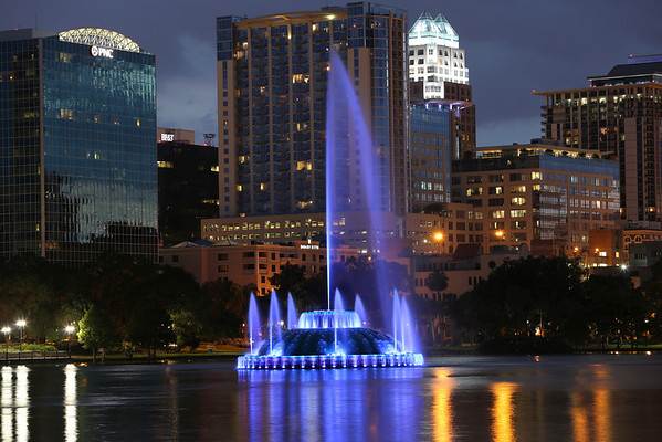 Downtown Orlando July 2012