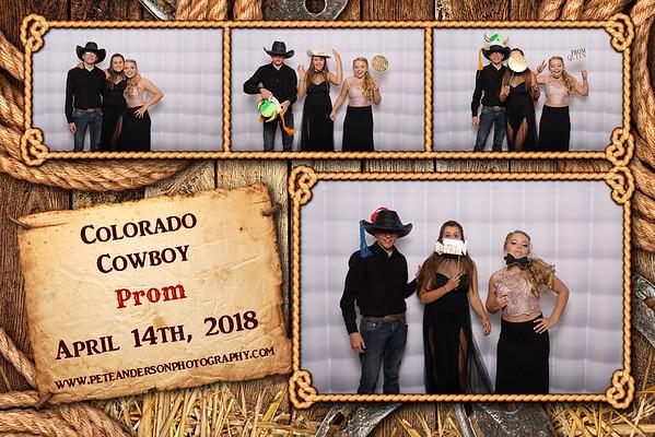 2018 Colorado Cowboy Prom