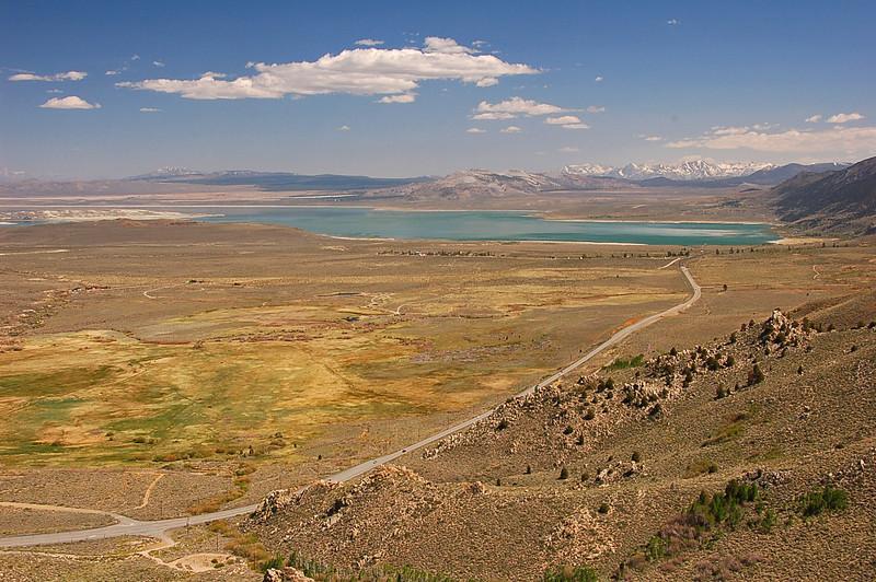 Mono lake looking south