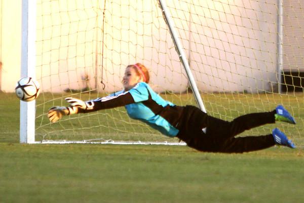 2012-13 Girls HS Soccer vs St Agnes 11-8