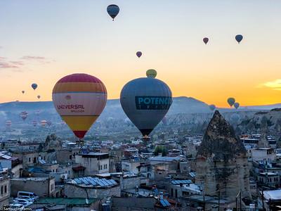 Hot Air Balloons, Cappadocia