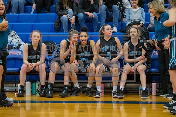 Bonney Lake girls varsity vs Timberline