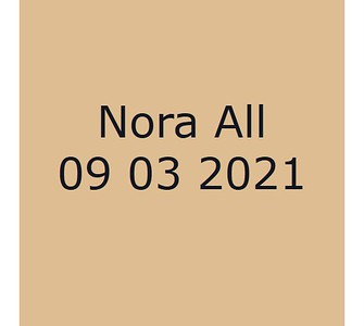 Nora 090321 All