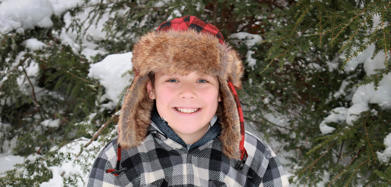 Kid in the Snow 2018