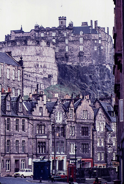 Royal Mile, Edinburgh, Scotland, 1975
