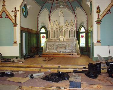 August 2005 Church Restoration