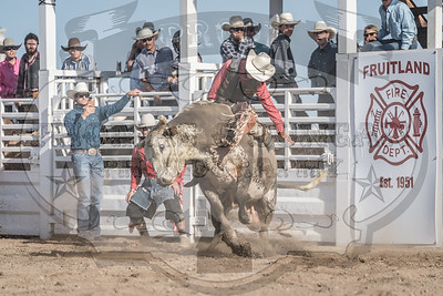 Fruitland Fire Fighters Bull Riding Burnout