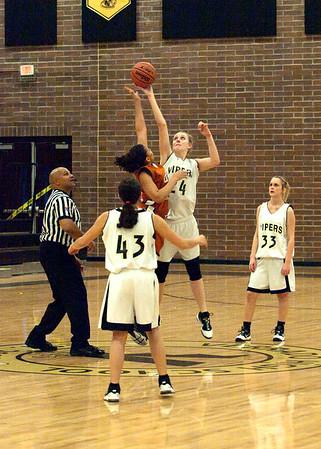 Basketball JV Girls vs Desert Edge 1/19/2010