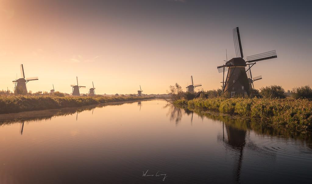 鹿特丹與小孩堤防 by Wilhelm Chang 張威廉