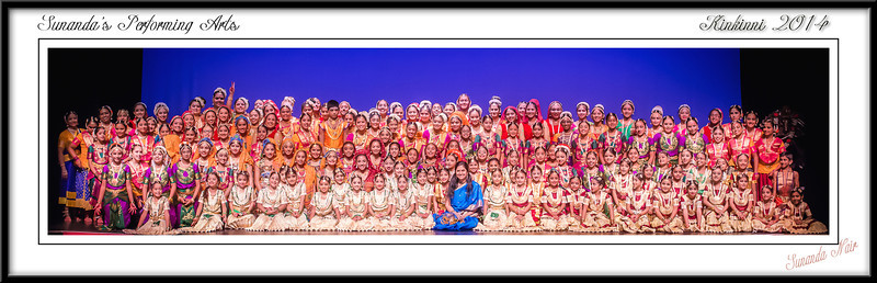 "Group Portraits - Sunanda's Performing Arts Annual Recital ""Kinkinni 2014"""