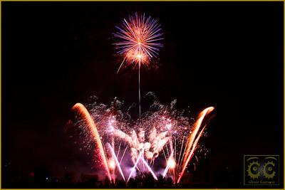 Fireworks -Wicksteed Park 2009
