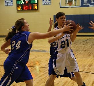CJHS Basketball Lady Blue Devils vs. Fruitvale