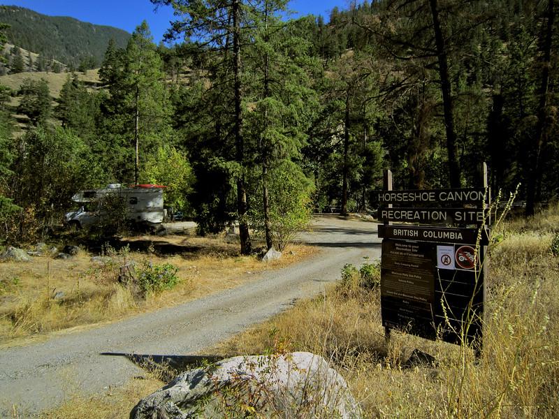 Horseshoe Canyon Recreation Site