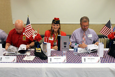 APRIL - VETERANS HERITAGE PROJECT BOOK SIGNING